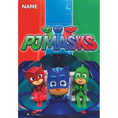 Mask Party Favors (PJ Masks Favor Bags (8ct))