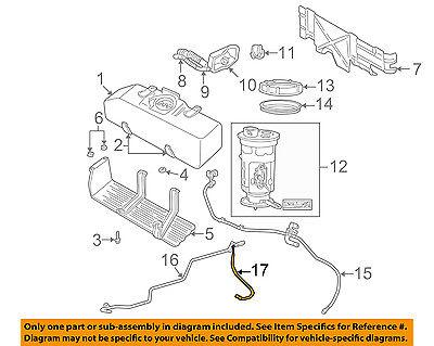 dodge chrysler oem 05 09 dakota 4 7l v8 fuel system line 68043249aa 2001 Dodge Dakota Fuel System Diagram