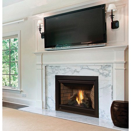 Napoleon B42NTRE 22,000 BTU Built-In Direct Vent Natural Gas Fireplace with Safe