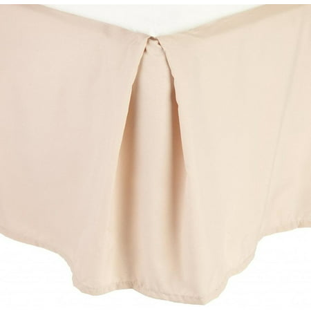 - 1500 Thread Count Wrinkle Resistant SOLID Bed Skirt - Pleated Tailored 14