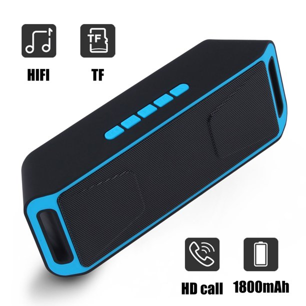 Bluetooth Speakers Tsv Compact Bluetooth Speaker With Loud Stereo Sound 6 Hour Playtime 33 Ft Bluetooth Range Built In Mic For Hd Call Perfect Portable Wireless Speaker Fits For Iphone Samsung Walmart Com