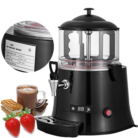 BestEquip 5L Commercial Hot Chocolate Machine Cocoa Melting Beverage Dispenser