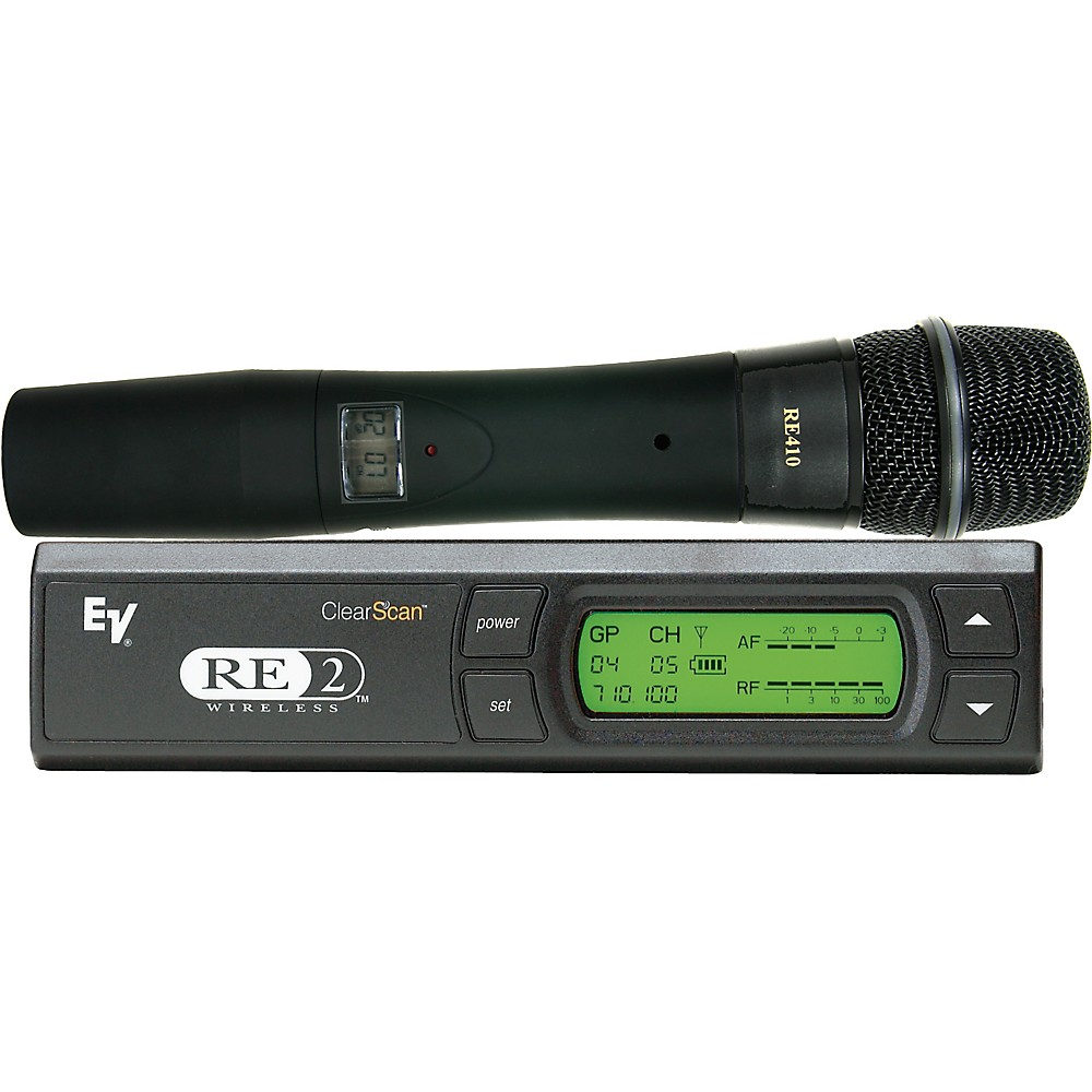 ELECTRO-VOICE RE2-410 Wireless System with RE410 Handheld...