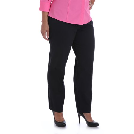 Women's Plus Size Twill Pant (Lee Side Elastic Twill Pants Plus Size)