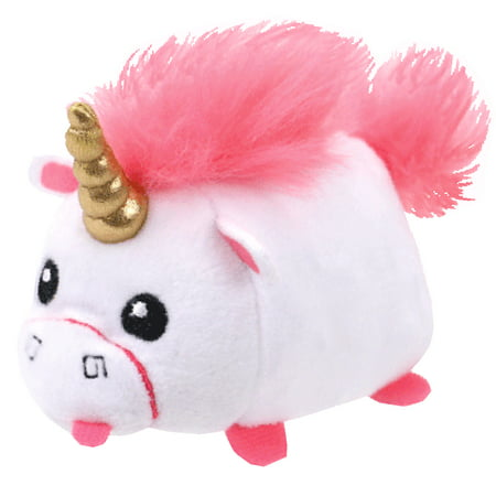 Despicable Me3 Teeny Ty Fluffy The Unicorn Plush  4 Inches Long