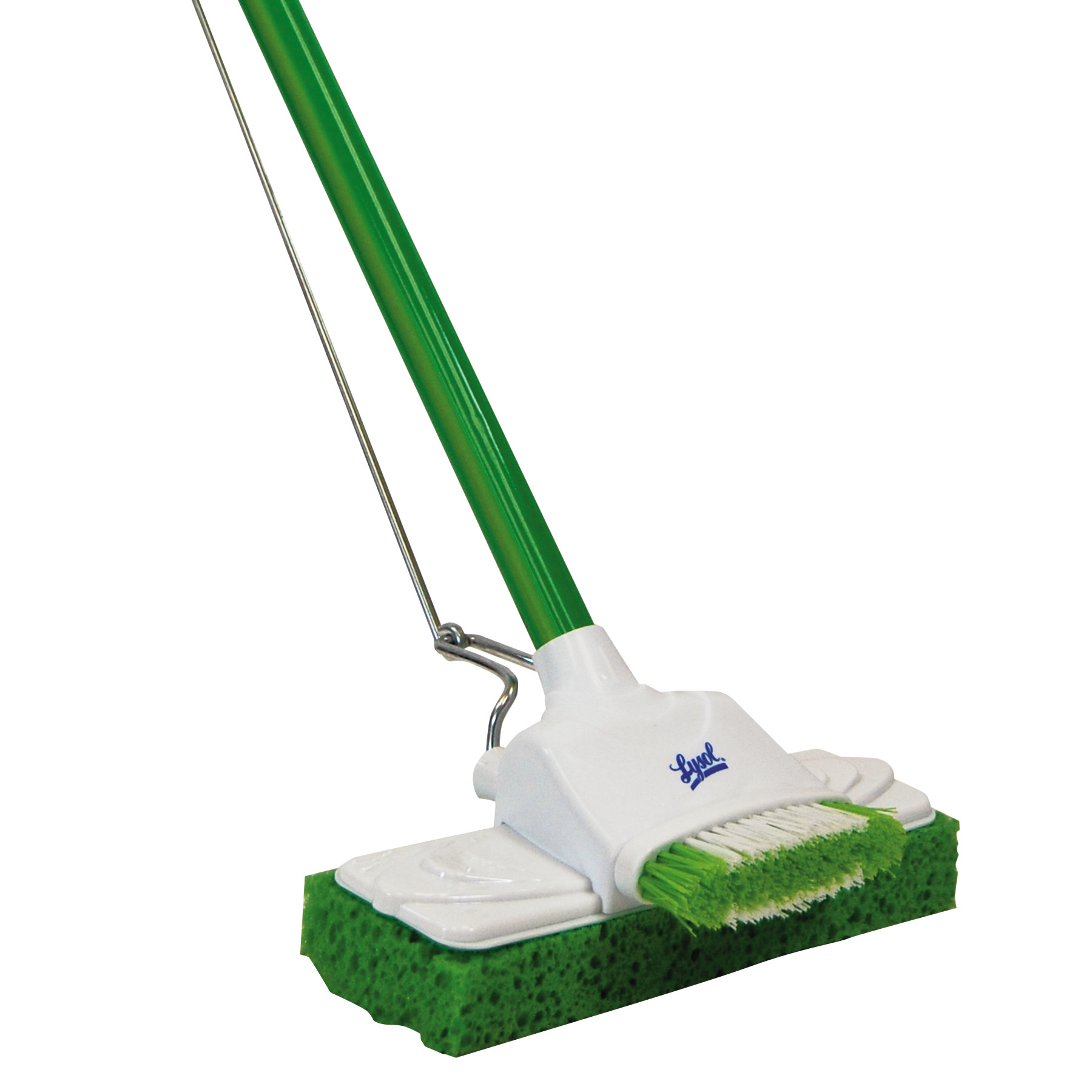 "LYSOL Brand Sponge Mop, 9"", 48"" Steel Handle"