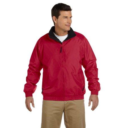 Harriton Adult Fleece-Lined Nylon Jacket - image 1 of 1
