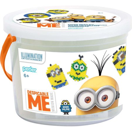 Perler Despicable Me 3 Fused Bead Bucket- for $<!---->
