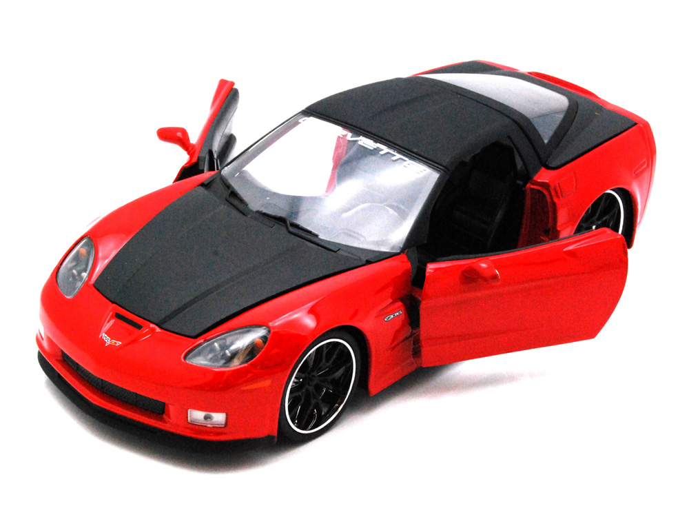 Chevy Corvette Z06, Red Jada Toys Bigtime Muscle 91184 1 24 scale Diecast Model Toy Car... by Jada