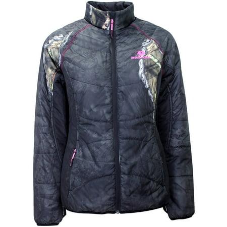 Mossy Oak Women's Insulated Jacket - Mossy Oak Eclipse