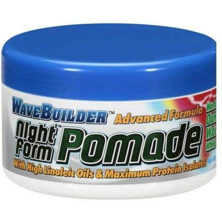 WaveBuilder Night Form Advanced Formula Pomade, 3.5 oz (Pack of 2)