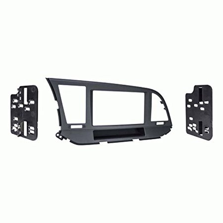 Metra 95-7376b Iso Double-din Installation Kit, fits Hyundai[r] Elantra 2017 & Up Double Iso Din Kit