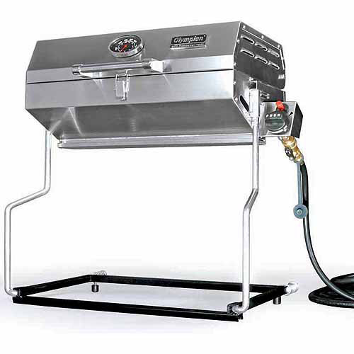 Camco Olympian RV 5500 Stainless Steel Gas Grill by Camco