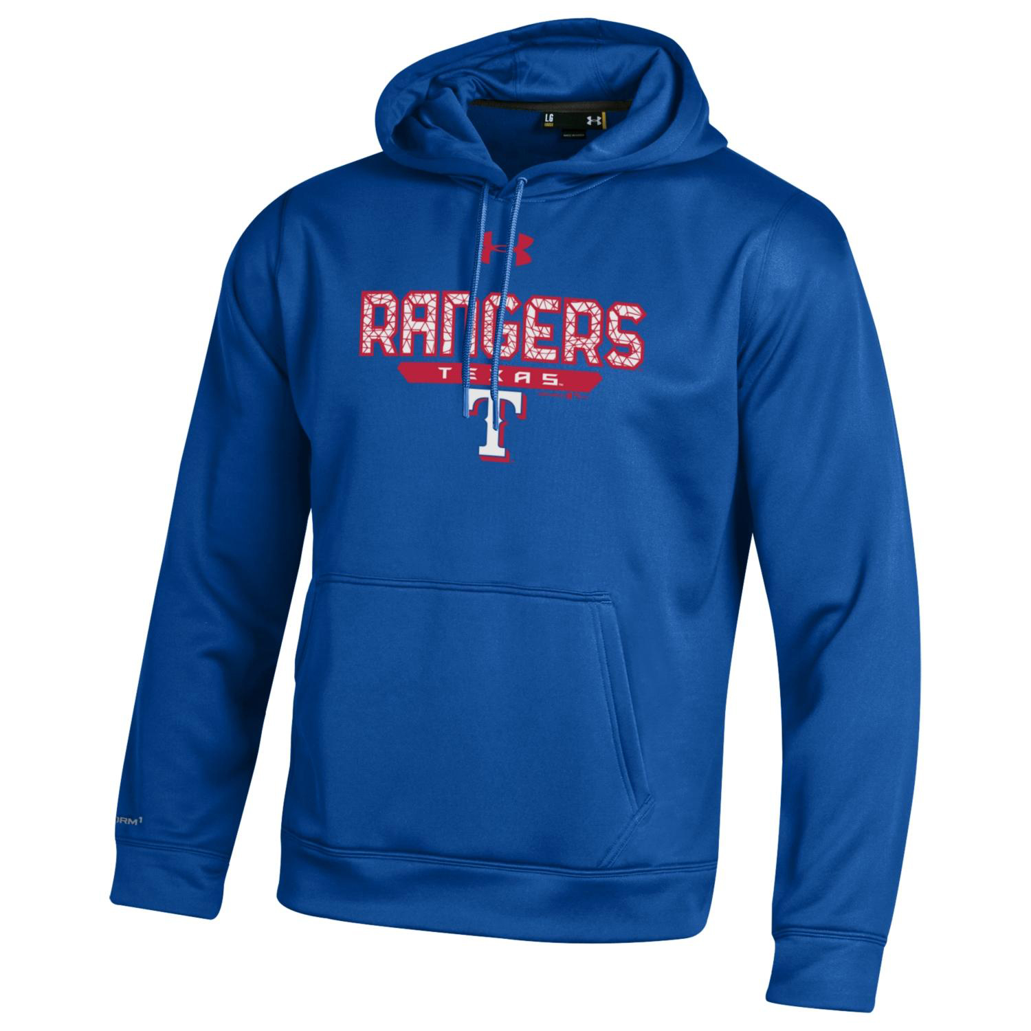 Texas Rangers Under Armour Pullover Hoodie - Royal