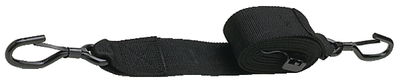 "Seachoice Gunwale Trailer Tie Down Strap, 2"" Wide, Black by Seachoice"