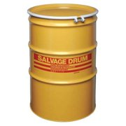 ZORO SELECT HM8518L Salvage Drum,Open Head,85 gal.,Yellow