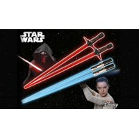 Kotobukiya Star Wars Kylo Ren Rey Lightsaber Chopsticks Red/Blue Force Awakens AUG162815