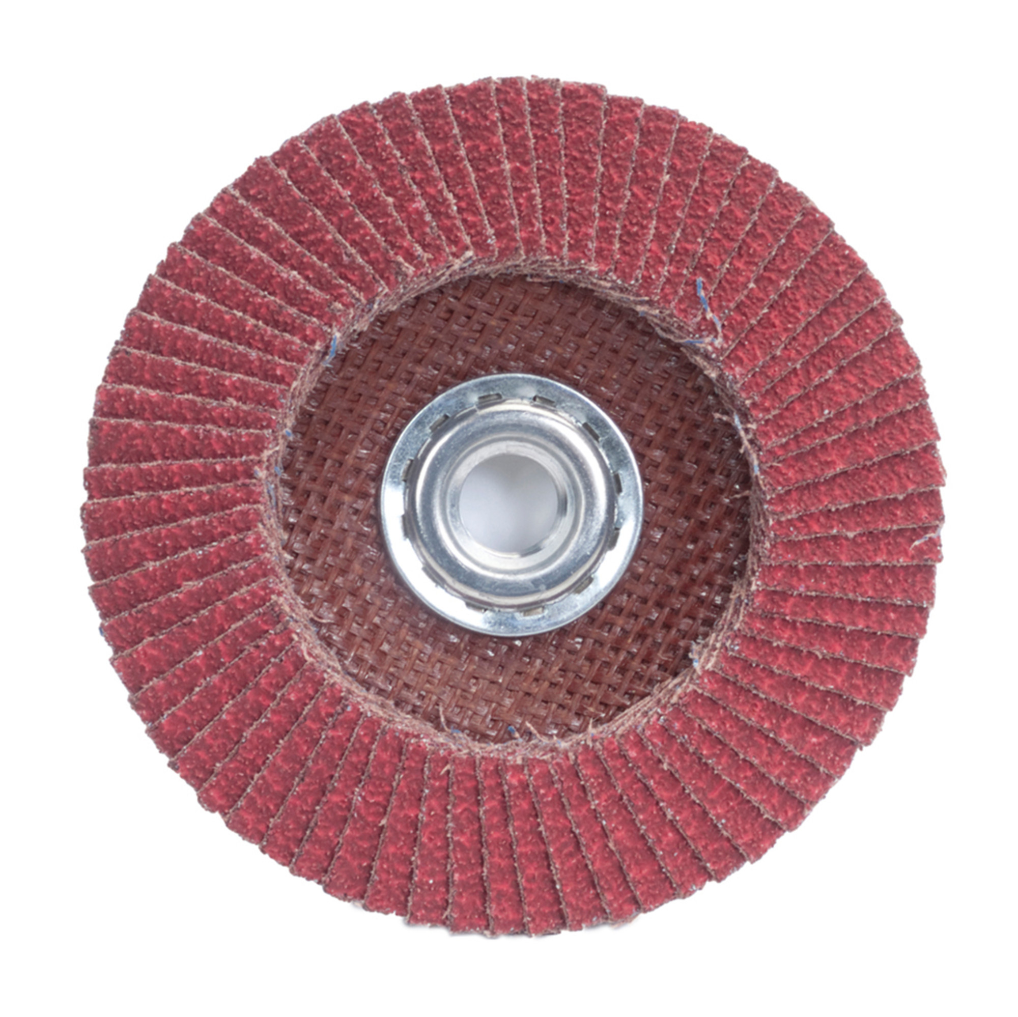 Threaded Hole 4-1/2 Dia. Merit Powerflex Contoured Abrasive Flap Disc  Fiberglass Backing 80 Grit Pack of 1 Type 29 Ceramic Aluminum Oxide Flap  Discs Power & Hand Tools