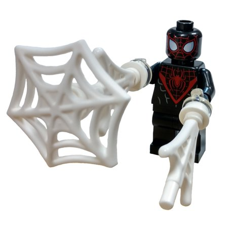 LEGO Marvel Spider-Man Miles Morales Minifigure [With Webs] [No Packaging] - Miles Morales Spider Man Suit