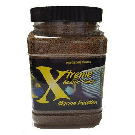 Xtreme Aquatic Marine PeeWee Fish Food Pellets, 20 oz
