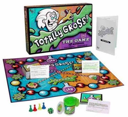 Totally Gross: The Game of Science, Heart Silly Operated Nails Friends John Disgusting Beating Sounds Board... by