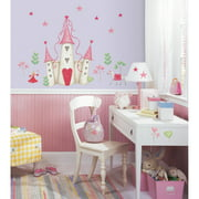 RoomMates Princess Castle Peel and Stick Wall Decal