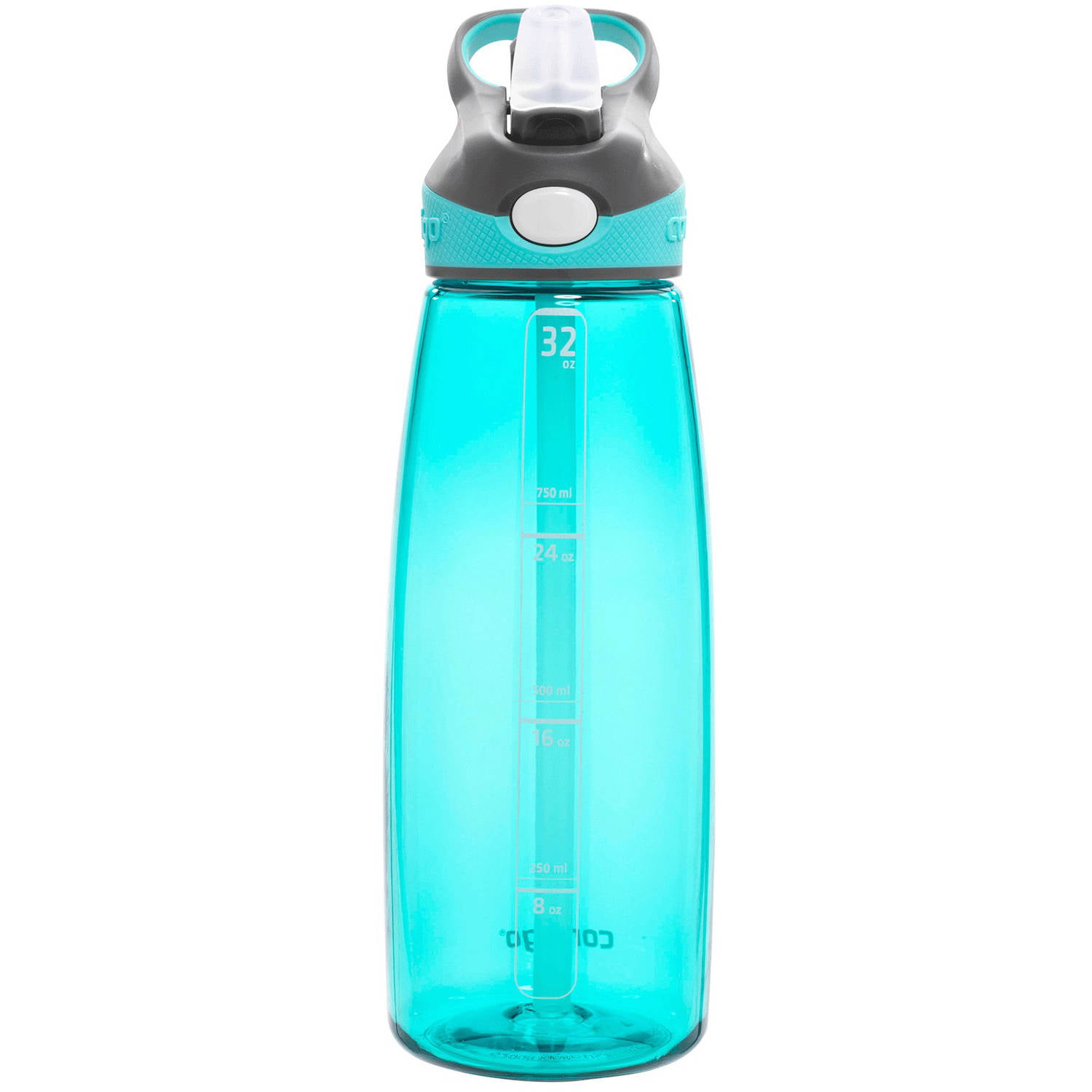 64 Oz Water Bottle With Straw