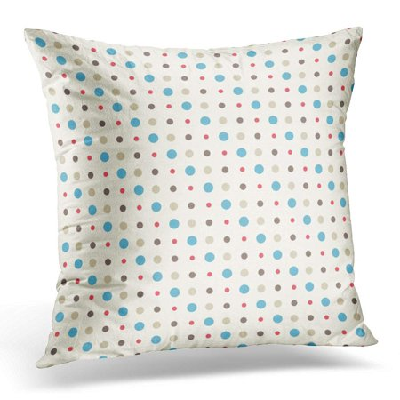 ARHOME Black Spotty Dotted Pattern Green Ball Pillow Case Pillow Cover 20x20 inch Green Dot Ball
