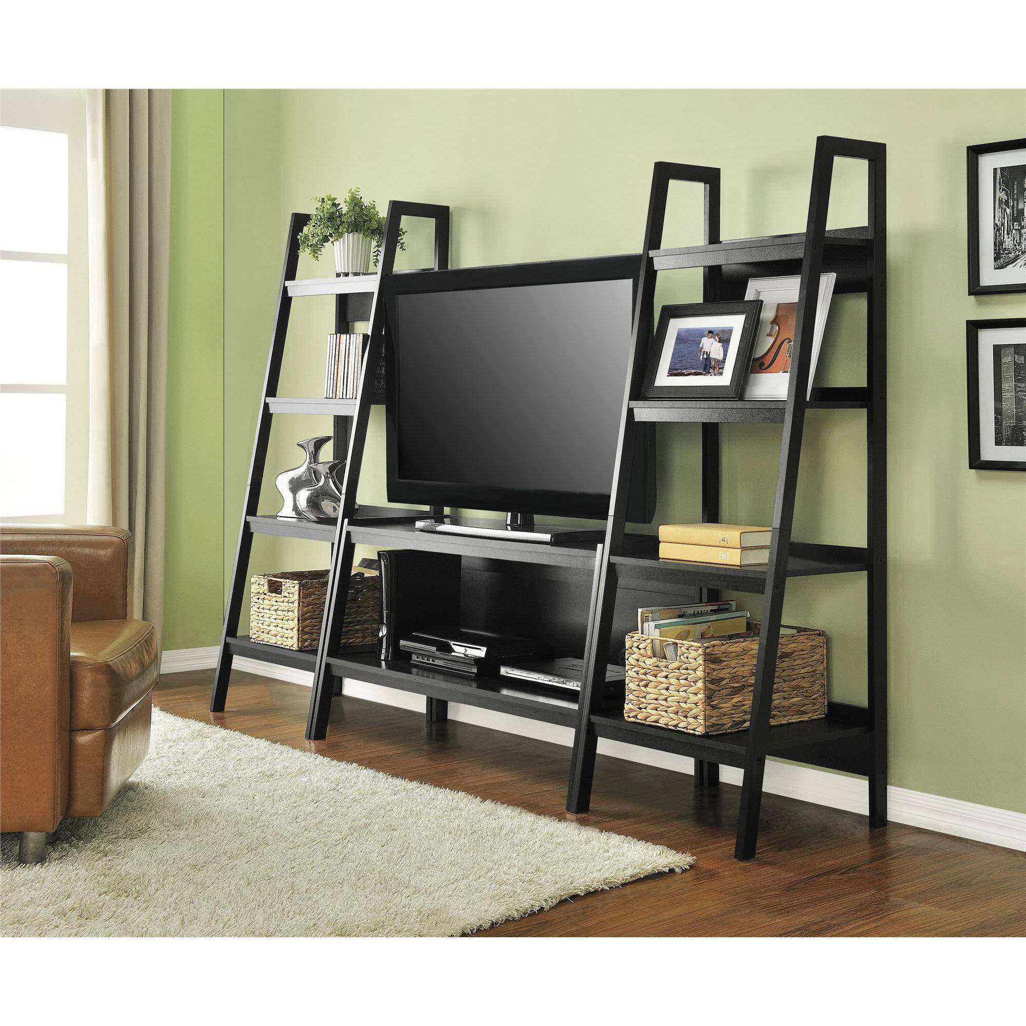 Altra Ladder For Stand Tv Black Tvs Up To 46