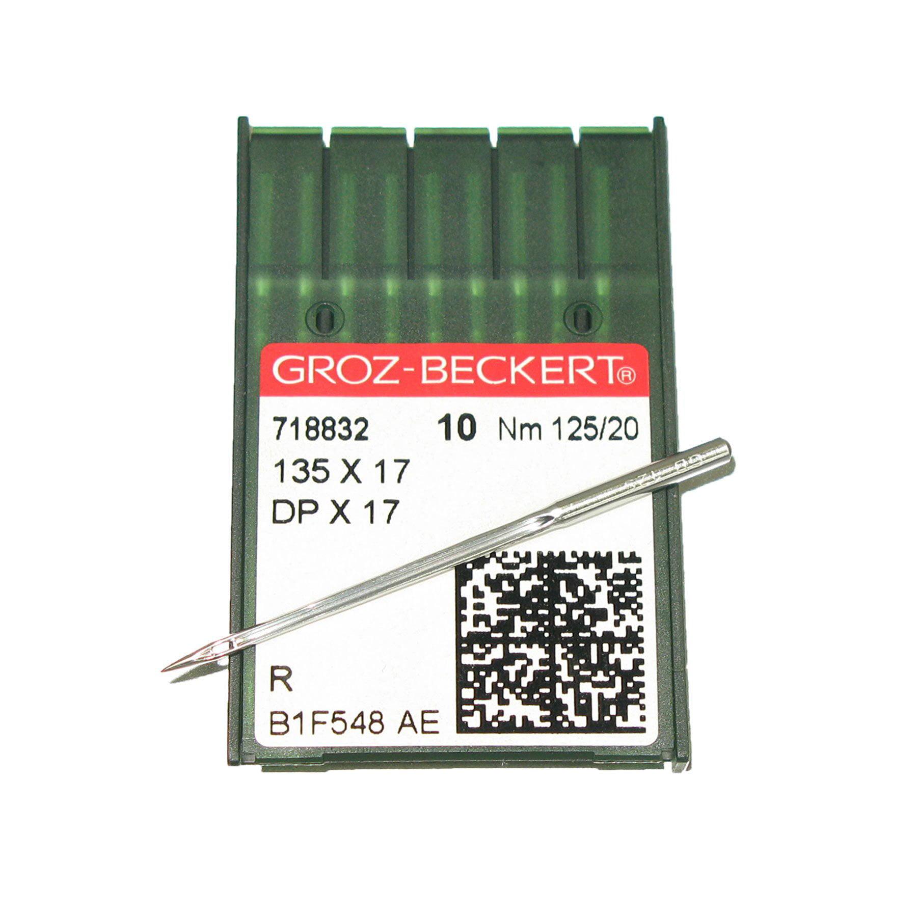 Groz-Beckert 135 X 17 #20 Sewing Machine Needles