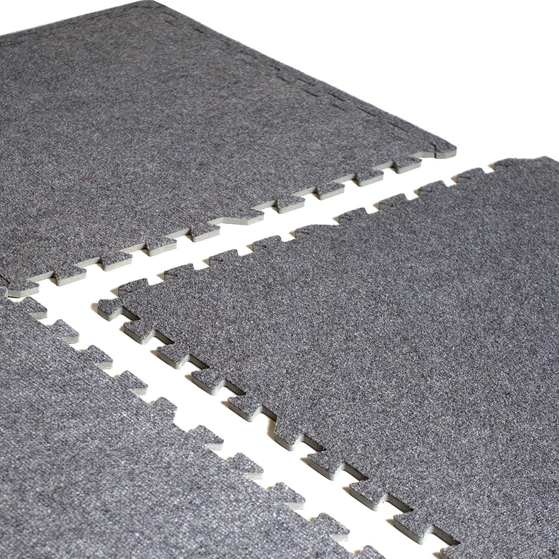 Grey Foam 6 pieces sizes in the description