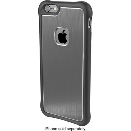 sale retailer e1c88 1a908 Ballistic Apple iPhone 6/6s Onyx/Gray Tungsten Ultra Slim Thin Case  US1552-B01Y