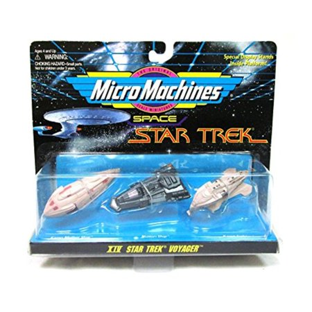micro machines star trek voyager collection xiv