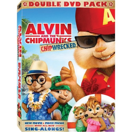Alvin And The Chipmunks 3: Chipwrecked (2-Pack) (Widescreen)