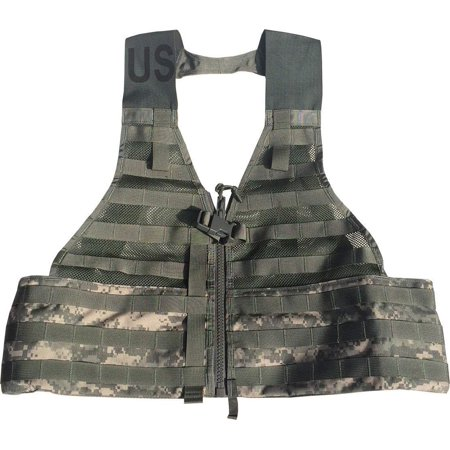 Official US Military MOLLE II Army ACU FLC Fighting Tactical Assault Vest Carrier SDS (Acu Tactical Vest)