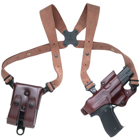 Galco Jackass Rig Shoulder System, Havana Brown, Right Hand
