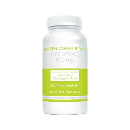 Creative Bioscience Green Coffee Bean Pure Extract Veggie Capsules  800Mg  60 Count