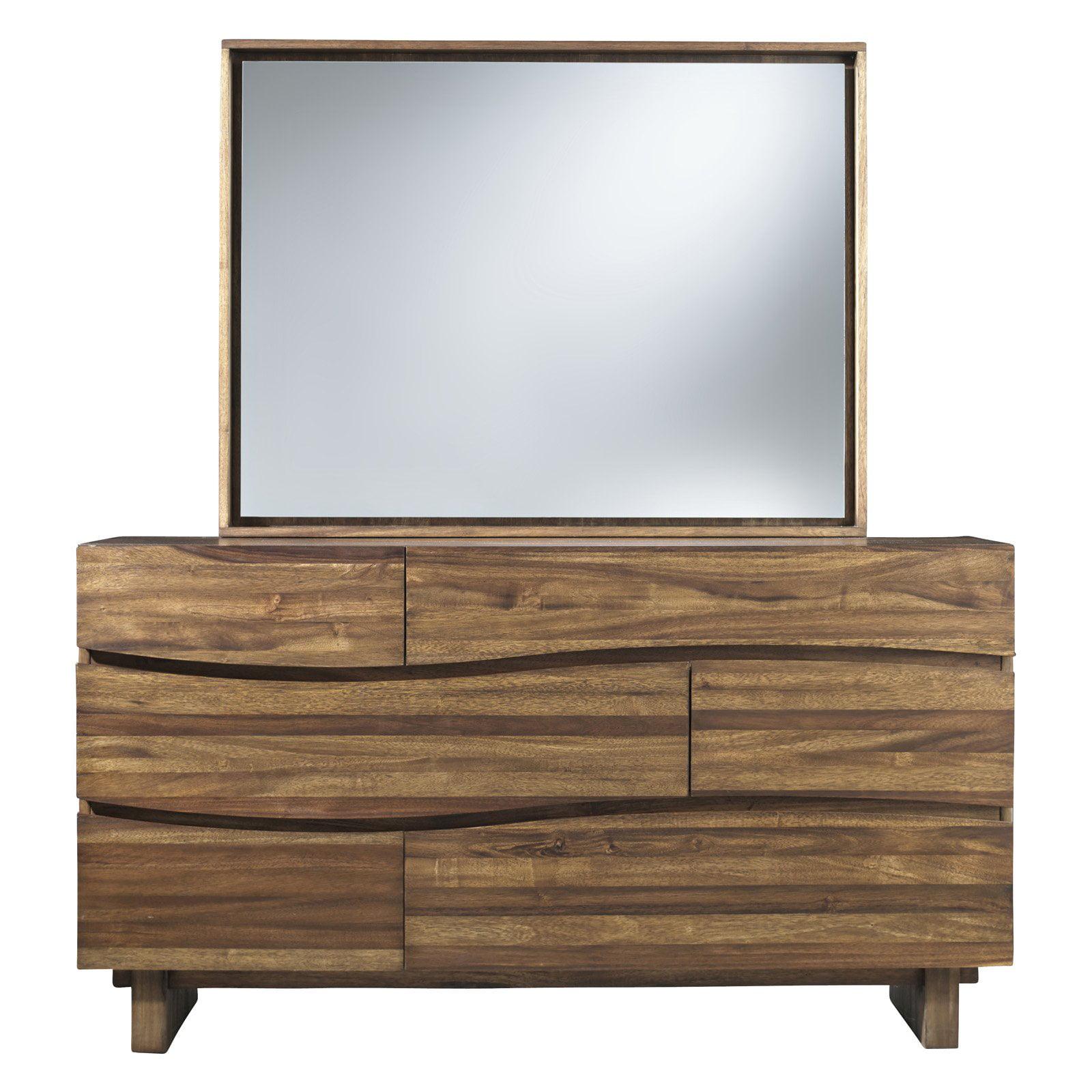 Modus Ocean 6-Drawer Dresser with Optional Mirror by Modus Furniture