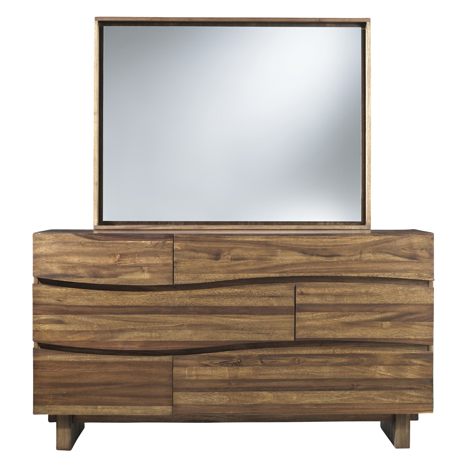Modus Ocean 6-Drawer Dresser with Optional Mirror