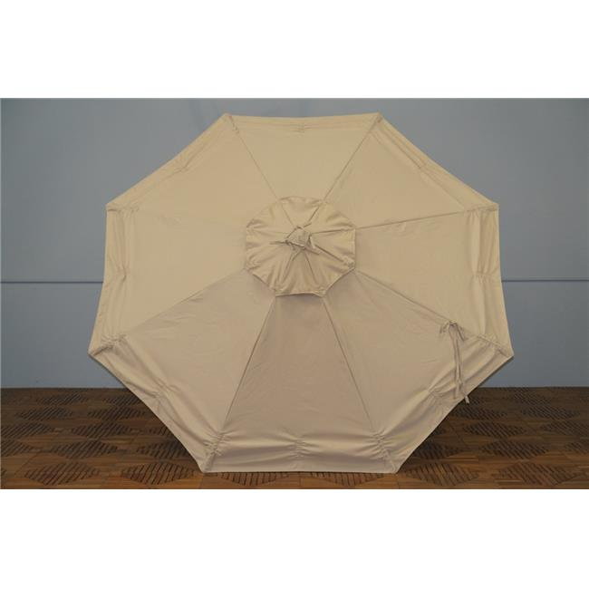 Shade Trends URC-98-AB Universal Replacment Umbrella Canopy - Antique Beige