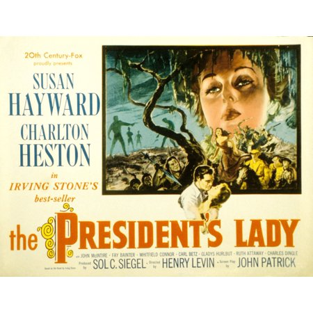 Herend Reserve Collection (The PresidentS Lady Charlton Heston Susan Hayward 1953 Tm And Copyright 20Th Century-Fox Film Corp All Rights Reserved  Courtesy Everett Collection Movie Poster)