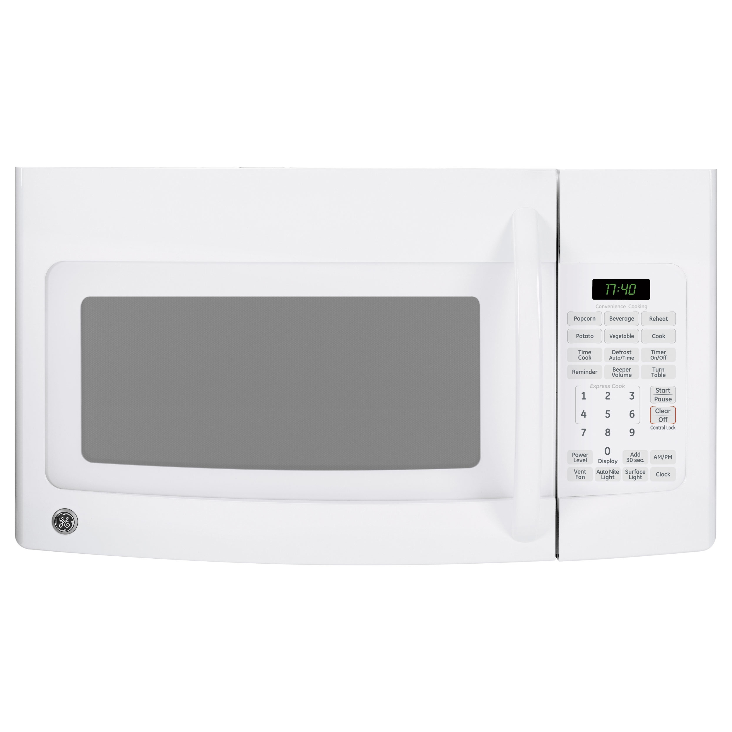 general electric 17 cuft microwave oven