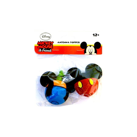 Disney Mickey Mouse and Goofy Body Antenna Toppers (Antenna Topper Glitter)
