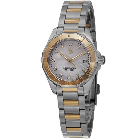 Tag heuer tag heuer aquaracer300 way1451 bd0922 27mm multicolor steel bracelet case anti for Anti reflective watches