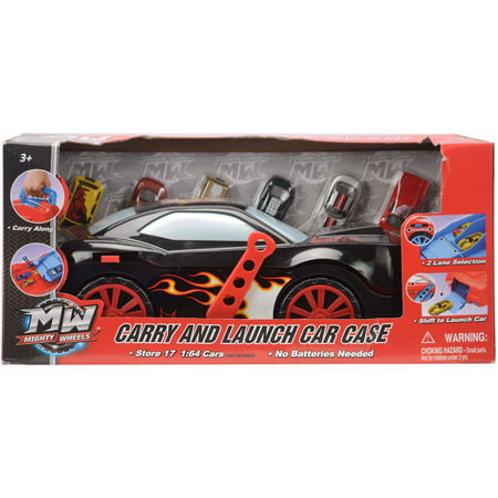 - Carry and Launch Car Case with 6 Die Cast Cars