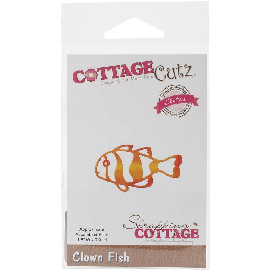 """CottageCutz Elites Die, Clown Fish, 1.8"""" x .9"""""""
