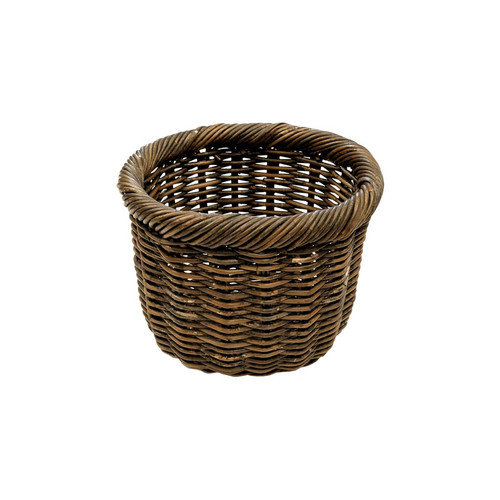 Eco Displayware Eco-Friendly Oval Rolled Rim Basket