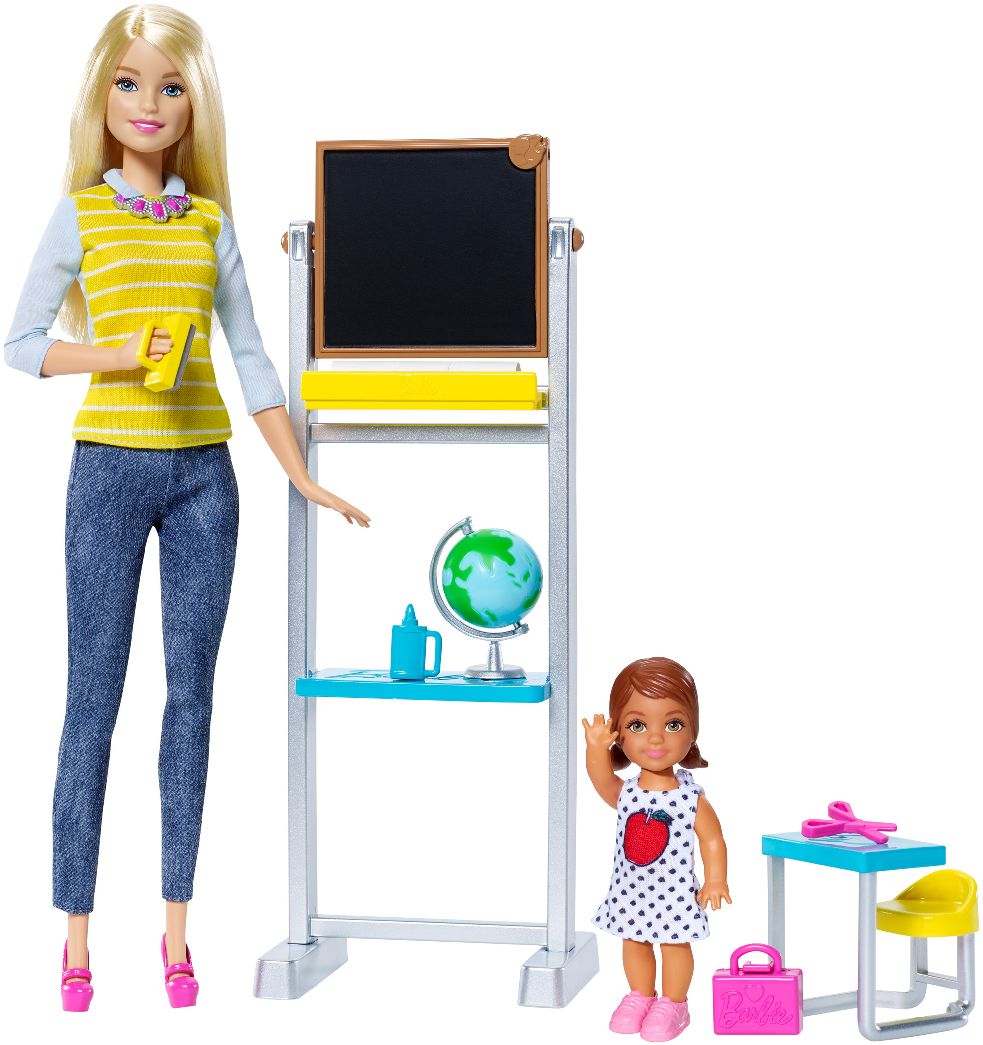 BARBIE CAREER TEACHER PLAYSET DOLL/ACCESSORY