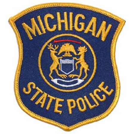 State Police Patch (Michigan State Police Patch 3
