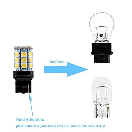 Makergroup S8 T20 3156 Wedge Base LED Light Bulb 12VAC/DC